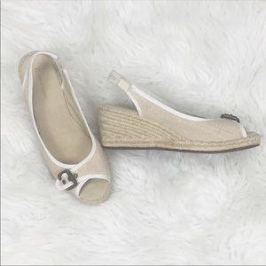 Naturalizer Wedge Sandals Espadrille Ladies Size 7